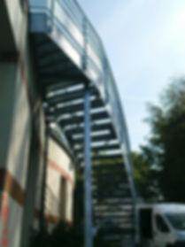 escalier galvanisé normandie