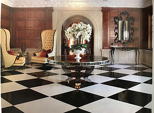 Phalaenopsis in foyer