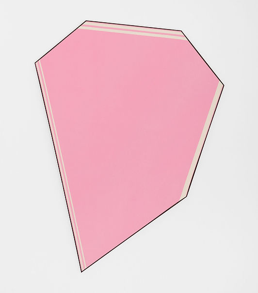 Ring, 1977. Acrylic on canvas. 85 3/4 x 62 1/4 in; 217.8 x 158.1 cm. © The Estate of Kenneth Noland/ VAGA, New York/ Dacs, London, 2016.