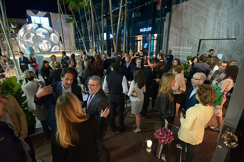 Private Air Luxury Homes | VHERNIER Miami Opening Party