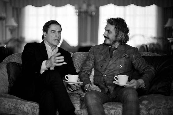 Gotti Movie - Matteo Perin Dressing John Travolta