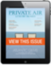 View Current Issue of Private Air Luxury Homes Magazine for Private Jet Travelers