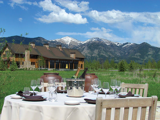Private Air Magazine |  Wyoming's Cakebread Ranch