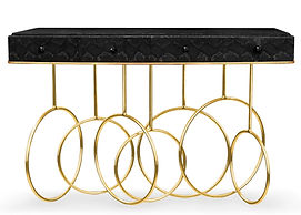Private Air Luxury Homes | KOKET Burlesque Console