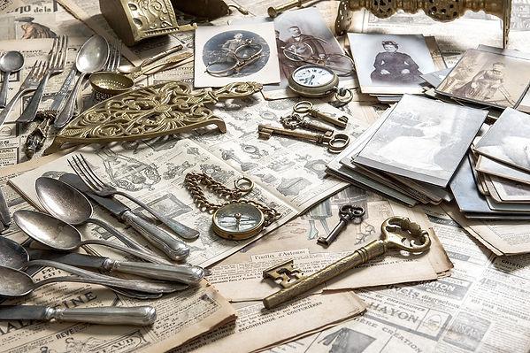 bigstock-Antique-Rarity-Goods-Private--6