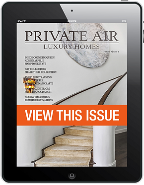 November December 2018 Issue of Private Air Luxury Homes Magazine