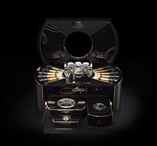 1 Million Dollar Cigar Chest - Emperador
