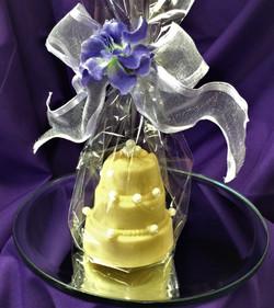 Chocolate Wedding Cake Favor