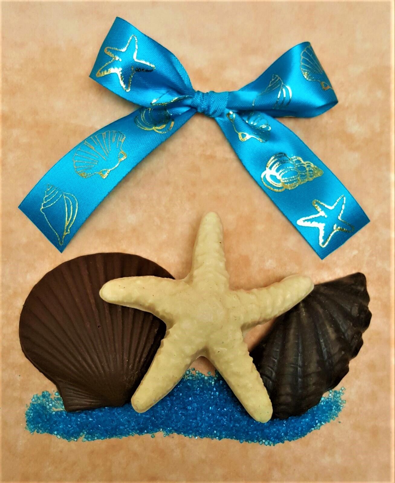 Chocolate Shells Wedding Favor