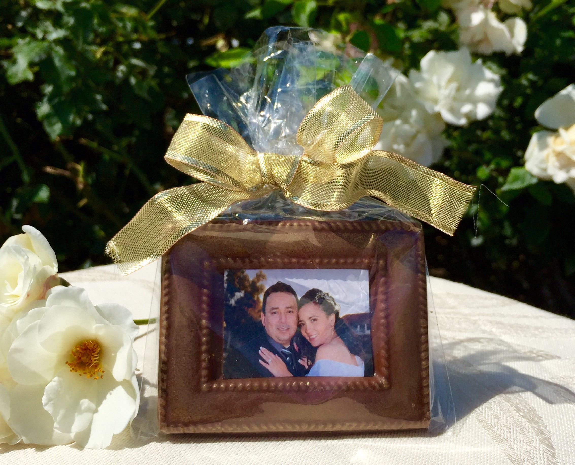 Chocolate Frame w/Edible Picture