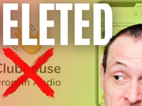 I Deleted Clubhouse and You Should Too