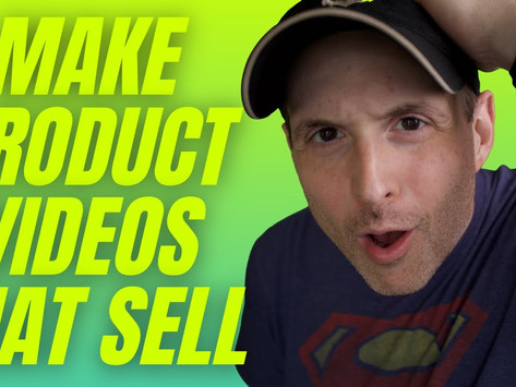 How to Make Product Videos That Sell (The Biggest Mistake I See Filmmakers Make!)