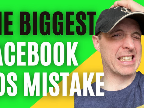 The Biggest Facebook Ads Mistake 95% of Marketers Make