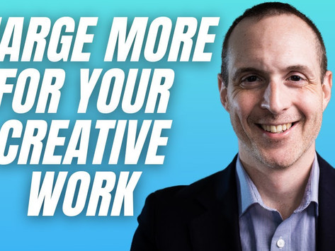 How to Charge More For Your Creative Work (Videos, Graphic Design, Photography!)