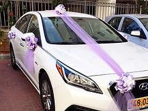 קישוט רכב לחתונה מס'49