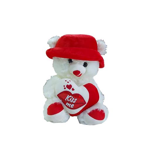 דובי-לבן-בינוני-עם-כובע-אדומה
