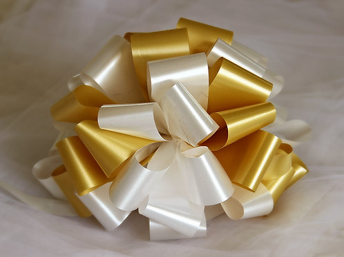 קישוט זהב \ לבן