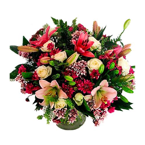 זר חיוכים - משלוח פרחים