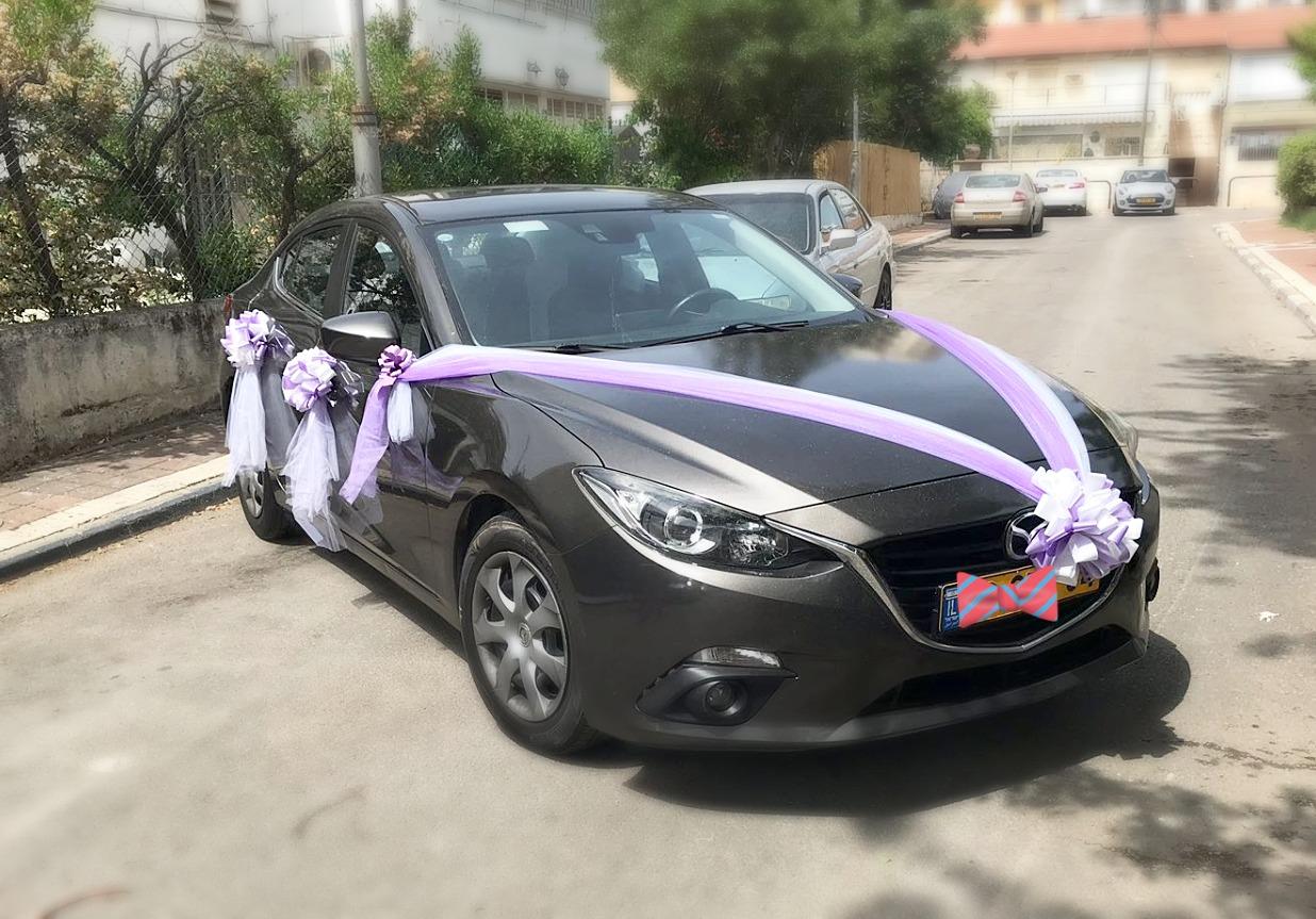 קישוט רכב לחתונה VIP