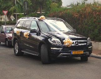 מרצדס לחתונה: דגם רכב שטח יוקרה להשכרה