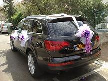 קישוט רכב לחתונה מס'20