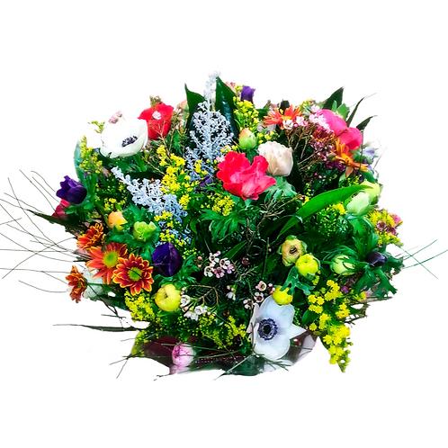 זר תערובת יער - משלוח פרחים