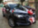 אוודי ק'יו 7 שחורה עם קישוט - רכב לחתונה