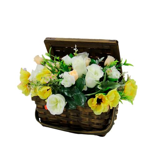 סל פרחים