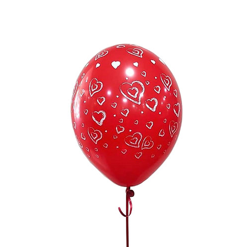 בלון-אדום-עם-לבבות-מדפסות