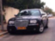 שחור יוקרתי להשכרה C300 רכב לחתונה: קרייזלר