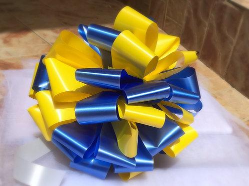 קישוט צהוב \ כחול