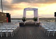 ארגון חתונות על חוף הים