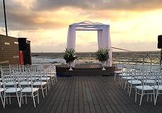 הפקת אירועים, ארגון חתונה בחוב הים