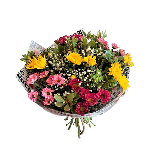 A colorful bouquet of chrysanthemums 1