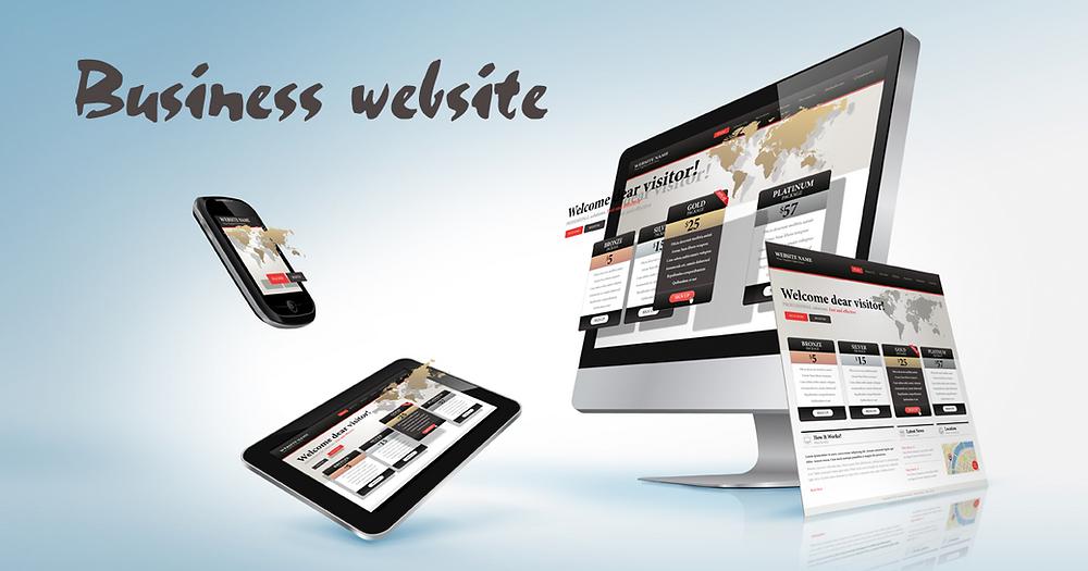 chto takoe business website
