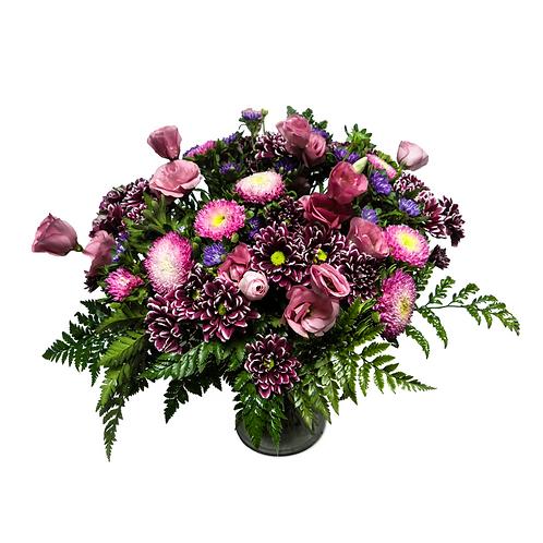 זר לילך - משלוח פרחים