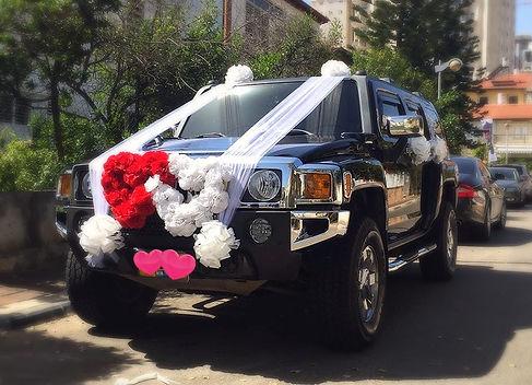 האמר מקושט לחתונה