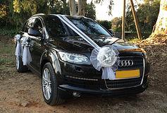 קישוט רכב לחתונה מס'31