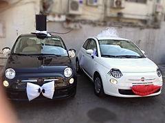 רכבים לחתונה מקושטים כמו מלך ומלכה