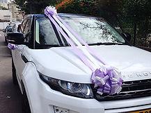 קישוט רכב לחתונה מס'48