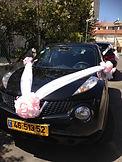 קישוט רכב לחתונה מס'9