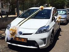 קישוט רכב לחתונה מס'40