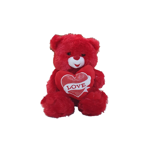 דובי אדום עם לב