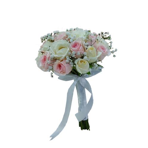 זר לכלה מספר 16 - חנות פרחים כרמיאל