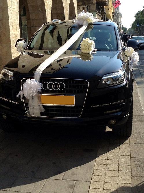 קישוט רכב לחתונה | מס' 12