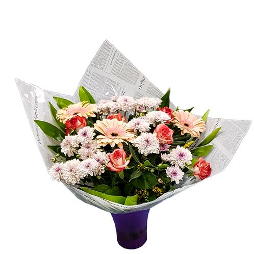 זר בינתיים - משלוח פרחים