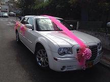 קישוט רכב לחתונה מס'23