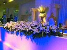 עיצוב אירועים בפרחים מקצועי