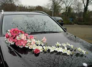 קישוטים לרכב לחתונה