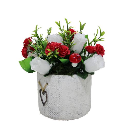 סידור פרחים מלאכותיים 5